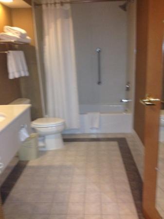 Holiday Inn Express Harrisonburg: huge bathroom