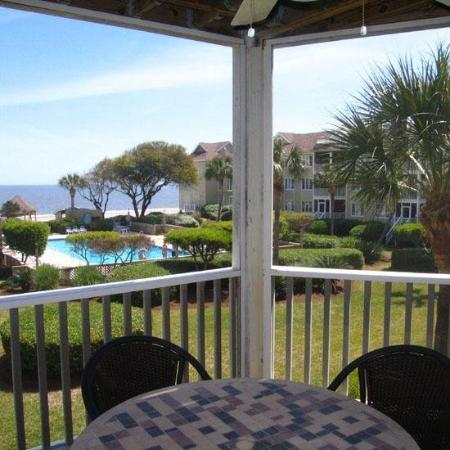 Wild Dunes Resort: Example of a One Bedroom Condo with a view