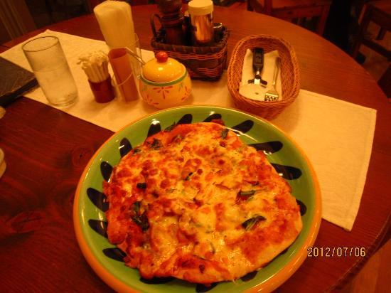 Mugiwara Boushi: ミックスピザ  すごく美味しかったです。