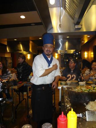 Mt. Fuji Japanese Steakhouse: Santos!
