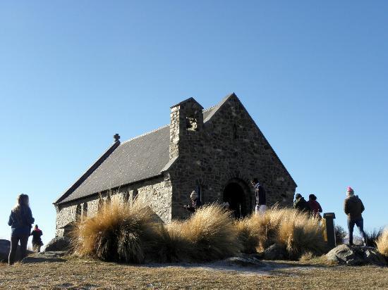 Peppers Bluewater Resort: Church of the Good Shepherd, Lake Tekapo, 3 minutes from the resort