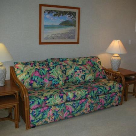 Royal Waikiki Condos: Living Room