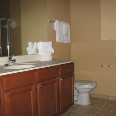 Secret Lake Resort: Bathroom