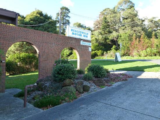 Healesville Motor Inn: Motel Entrance