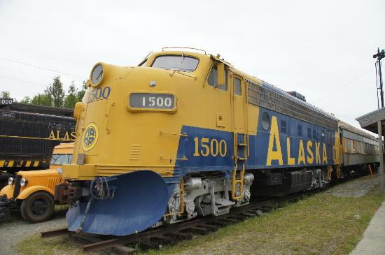 Locomotive From Movie Quot Runaway Train Quot Picture Of Alaska