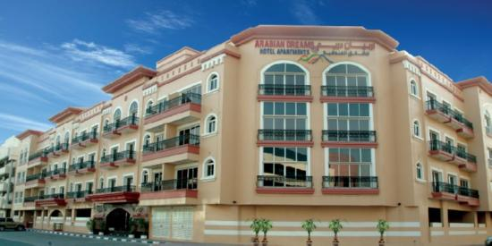 Arabian Dreams Hotel Apartments: Exterior view