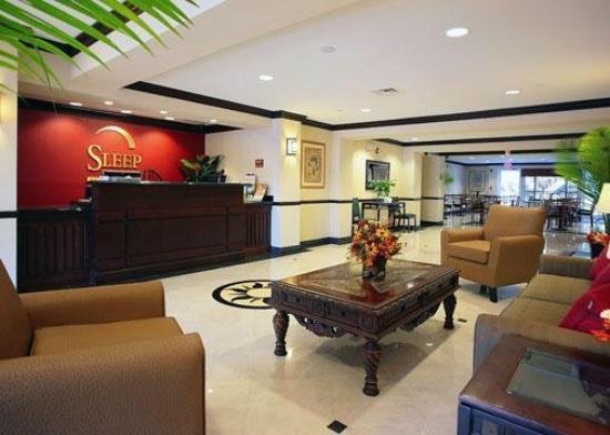 Sleep Inn & Suites - Jacksonville: Lobby