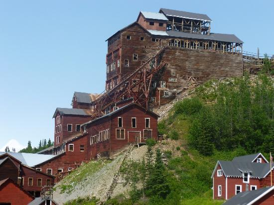Parco nazionale e Riserva di Wrangell-St Elias, AK: The Mill in all its closed glory