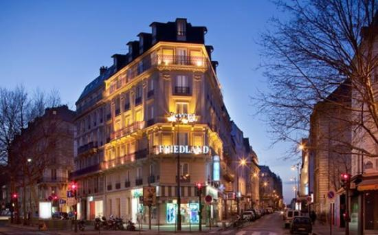 Hotel Champs-Elysees Friedland by HappyCulture : FACHADA