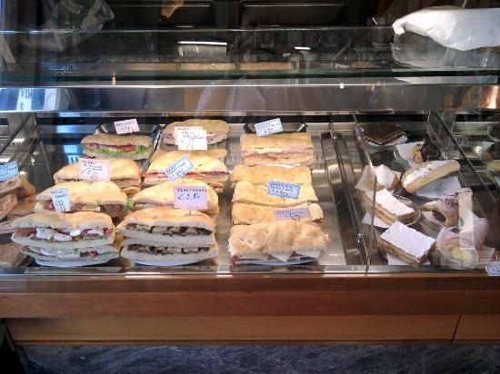 Bar Citta' di Fiesole: i panini assortiti