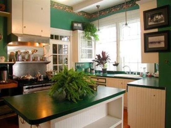 Delano Homestead Bed and Breakfast: Kitchen