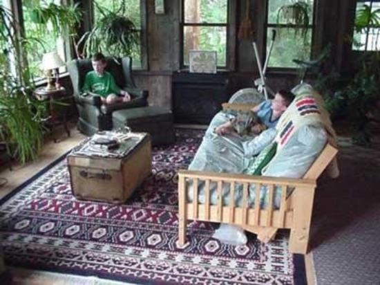 Auberge de Stowe: Interior