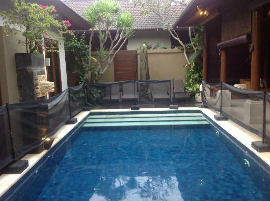 Lakshmi Villas: Villa Kawi Pool