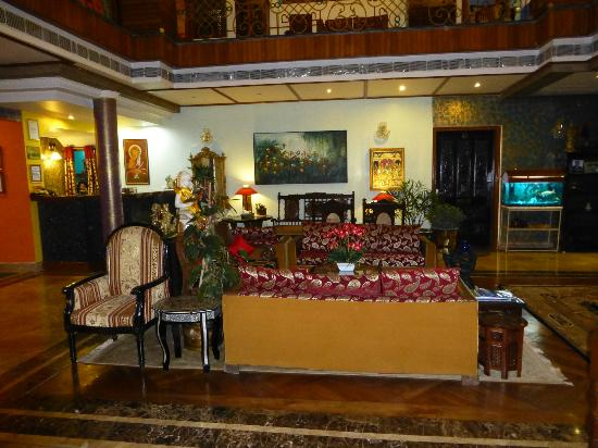 Another section @ Reception Area Lakkhotaa Lodge Guest House..