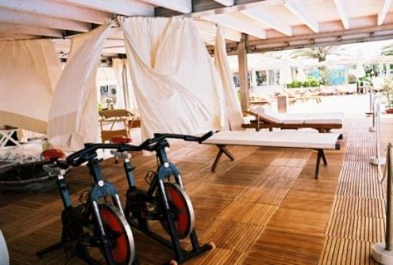 Hotel Le Focette: FITNESS ROOM