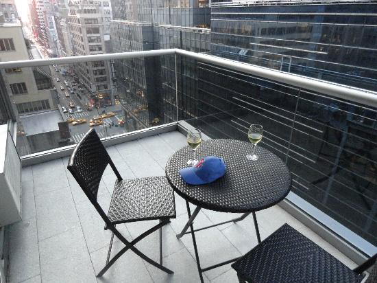 The Gotham Hotel: Balcony