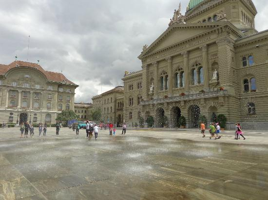 Bundeshaus: Federal Building - Bundesplatz - Bern, Switzerland