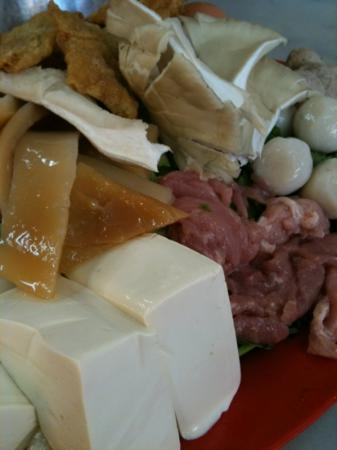You Hoo restaurant: very fresh tofu