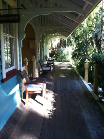 Secrets on the Lake: Whistlestop verandah