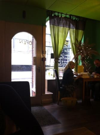 Mystery Tea House: relaxed atmosphere