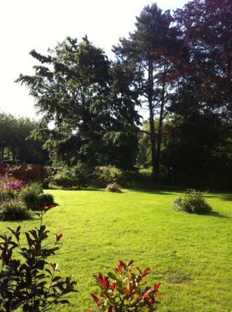 Le Pavillon De Beaumont : Le jardin