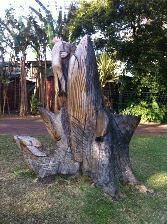 Durban Botanic Gardens: interesting sculpture