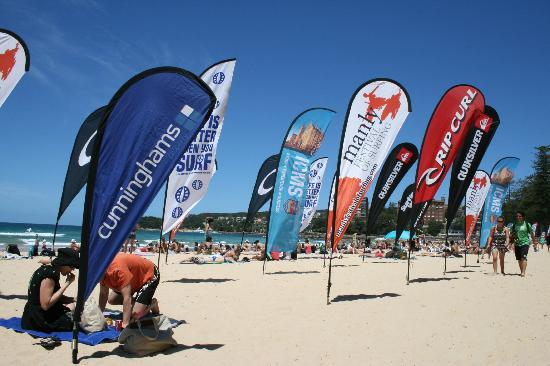 Manly Beach : surfing festival