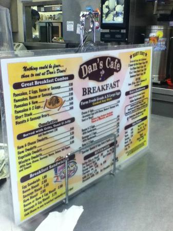 Dan S Soul Food Menu