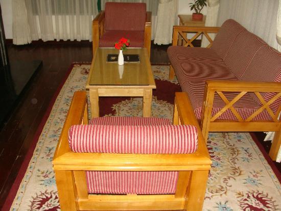 Camp Noel: Inside Cottage