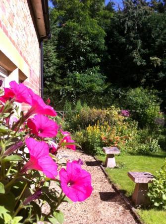 Beech House Hotel: lovely flowery garden - good for the soul