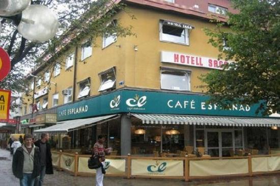 Lavaretia Hotell Saga : Exterior