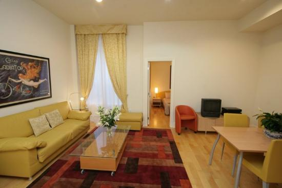 Central Park House : Executive One Bedroom Apartment