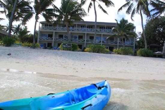 Photo of Moana Sands Beachfront Hotel & Villas Titikaveka