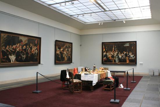 Frans Hals Museum: One of the main rooms with Frans Hals paintings