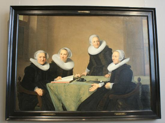 Museo di Frans Hals: One of the Frans Hals group portrets