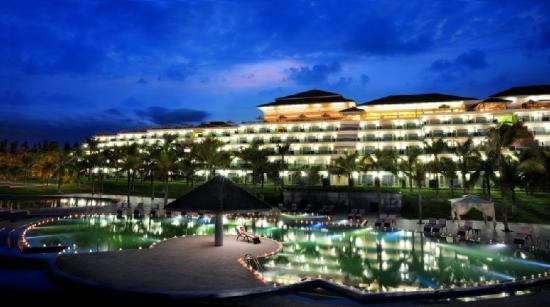 Sea Links Beach Hotel: Panoramic