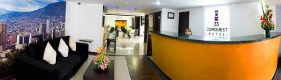 Hotel 33 Conquest: Foto RECEPCIONOK