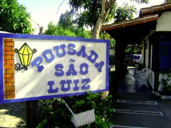 Pousada Sao Luiz: Exterior