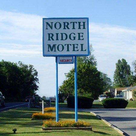 PANorth Ridge Motel Gettysburg Signage
