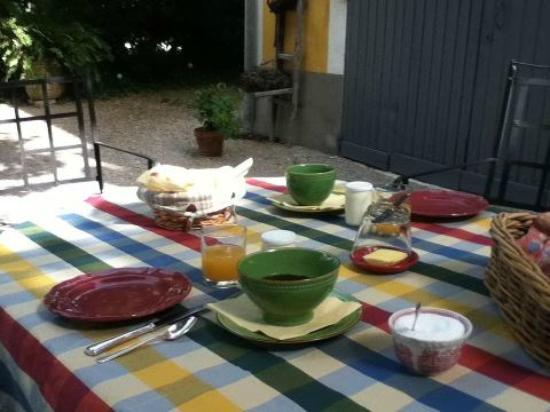La Villa Noria : delicious breakfast