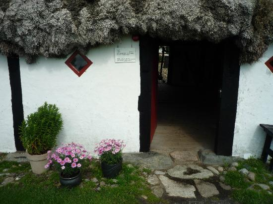 Laeso Museum: Indgang til Museumsgården Læsø