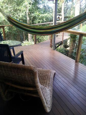 Sharlynn B&B: Balcony Hammock
