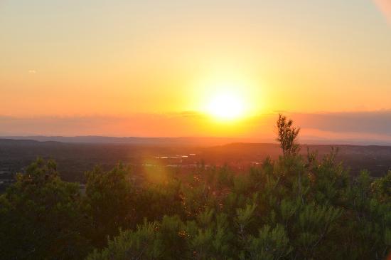 Famous Provence : Aussicht von der Terrasse