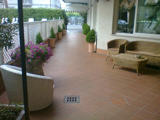 Albergo Hotel Ricchi : Entrance to the hotel