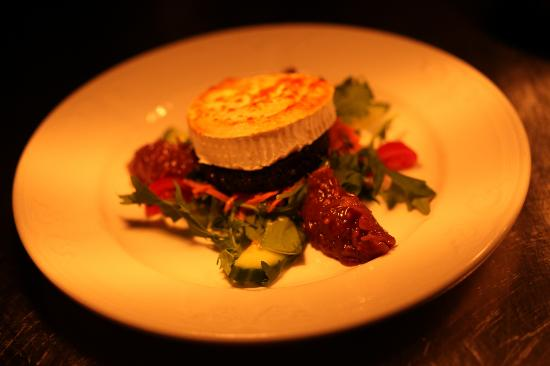 Killiecrankie Hotel: Mmmm - Stornoway Black Pudding and Goats' Cheese!