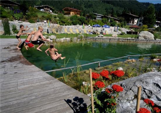 NationalPark Hotel Klockerhaus: Schwimmteich