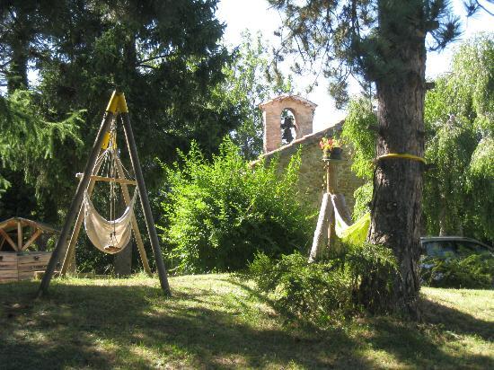 Hotel Bellier : le jardin et le hamac