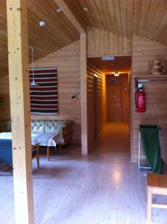 Flam Camping and Youth Hostel : shared cabin