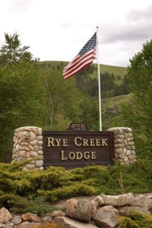 Rye Creek Lodge: Rye Creek Sign