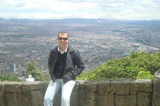 Cerro de Monserrate: Vista panorâmica de Bogotá